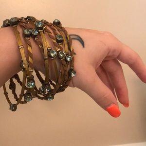 Bohemian pull apart bracelet